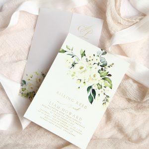 Flat, Folded or Layered Invitations